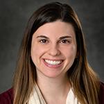 Academic Advisor Jessica Knerr smiling.